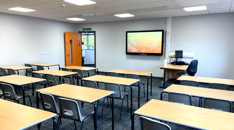 New Teaching Block LC-S 4